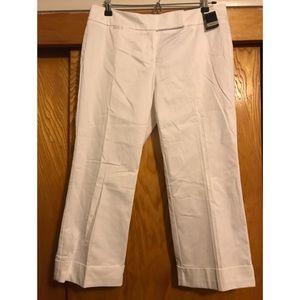 New York & Company Summer Capri Cuffed Pant